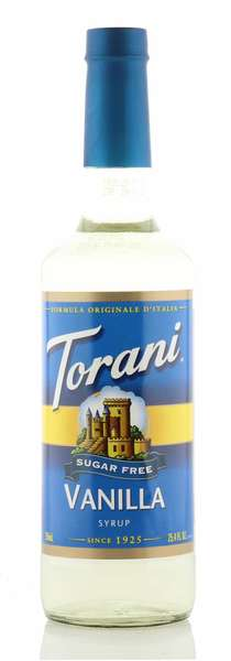 Torani Sirup Vanille zuckerfrei 750ml Flasche