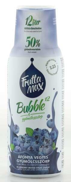 Frutta Max Bubble Heidelbeer Sirup