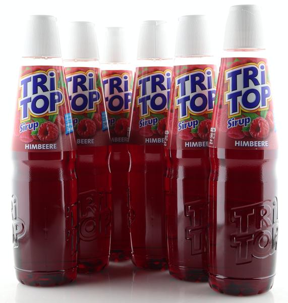 6 X TRi TOP Sirup Himbeere 0,6L