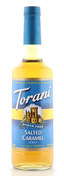 Torani Sirup Salted Caramel zuckerfrei 750ml Flasche