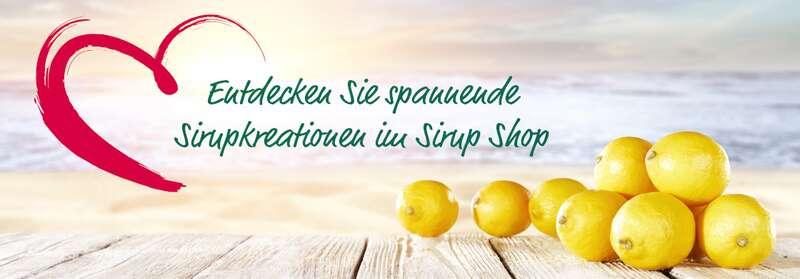 Entdecken Sie spannende Sirupkreationen im Sirup Shop