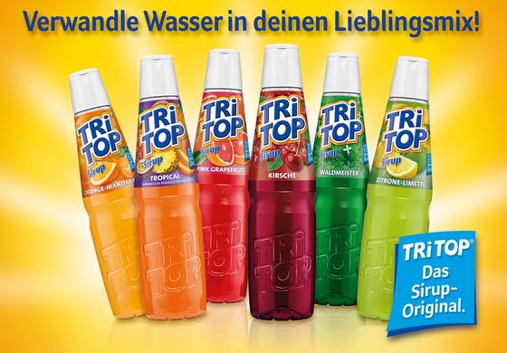 Tri TOP Sirup - Verwandle Wasser in dein Lieblingsmix!